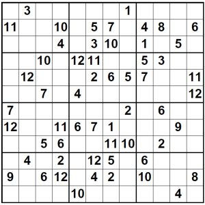 picture relating to Jigsaw Sudoku Printable identify 12x12 Tremendous Sudoku Journal