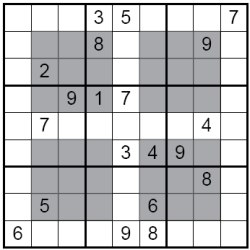HyperSudoku Puzzle