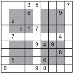 HyperSudoku Puzzle