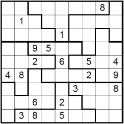 picture regarding Jigsaw Sudoku Printable referred to as Acquire Jigsaw Sudoku Puzzles License