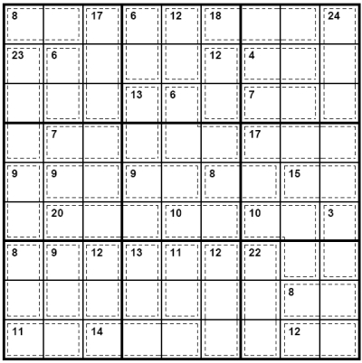 Gorgeous image regarding killer sudoku printable