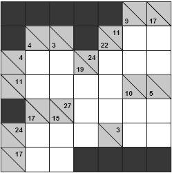 kakuro puzzle