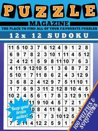 12x12 Super Sudoku Magazine magazine