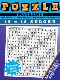 15 x 15 Sudoku Magazine magazine