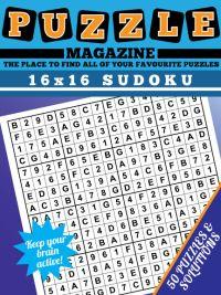 16x16 Sudoku magazine