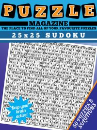 25x25 Sudoku magazine