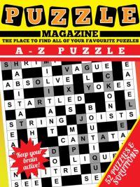 A - Z puzzle Magazine magazine