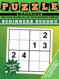 Beginners Sudoku magazine