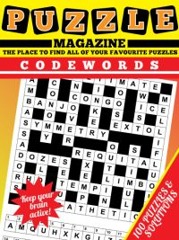 photograph about Codeword Puzzles Printable identified as Codeword Journal