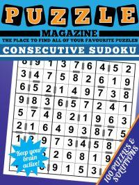 Consecutive Sudoku magazine