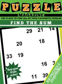 Find The Sum Magazine magazine