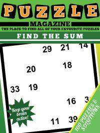 find the sum puzzles