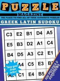 Graeco-Latin Sudoku Magazine magazine