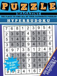Hypersudoku Puzzle magazine