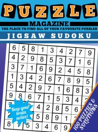 image about Jigsaw Sudoku Printable called Jigsaw Sudoku Puzzle Journal