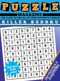 Killer Sudoku  Magazine magazine