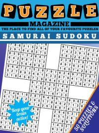Samurai Sudoku magazine