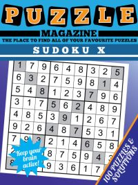 Sudoku X magazine