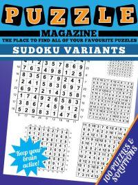 Variety Sudoku magazine