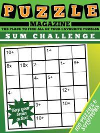 Kids Sum Challenge Puzzles Magazine magazine