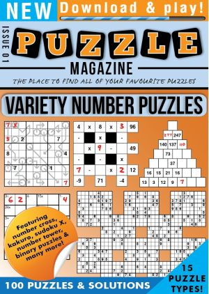 Variety Number Puzzles Magazine