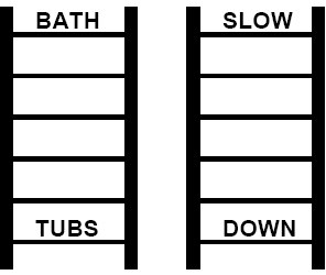 Example Word Ladder Puzzles